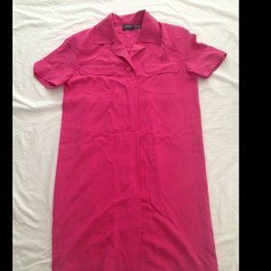 100% silk Liz Claiborne shirt Dresses